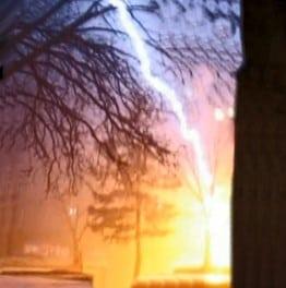 3,500 Lightning Strikes In 24 Hours