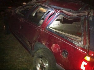 Three Juveniles Injured in Drug-Related Rollover 1