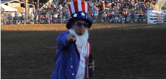 Professional Bull Riders in Folsom 2