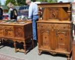 Great vintage furniture selection Folsom Antique Peddlers Fair