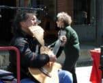 Oscar Reynolds, Bolivian master flutist, Folsom Antique Peddlers Fair