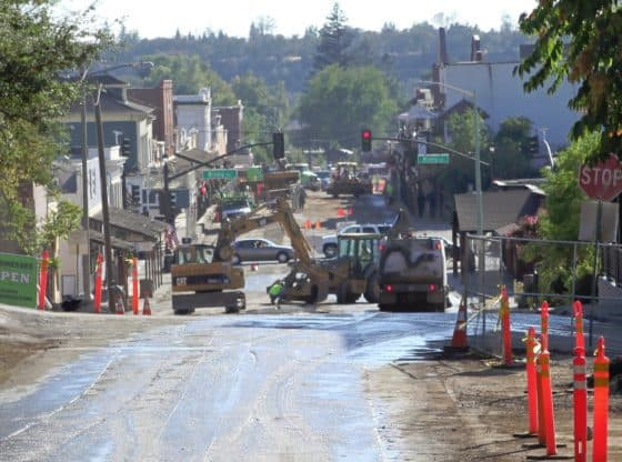 sutter street construction