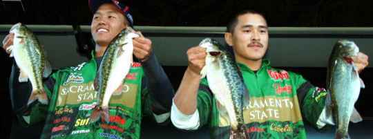 Folsom Lake Hosts College Fishing
