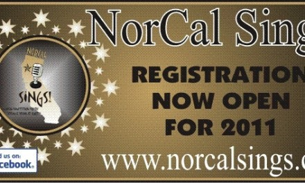 NorCal Sings!  2011 Registrations Open