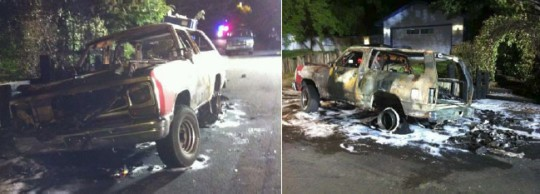 Vehicle Fire Injures Three, Including 6 Year Old 1