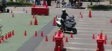 Folsom Police Motorcycle Competition
