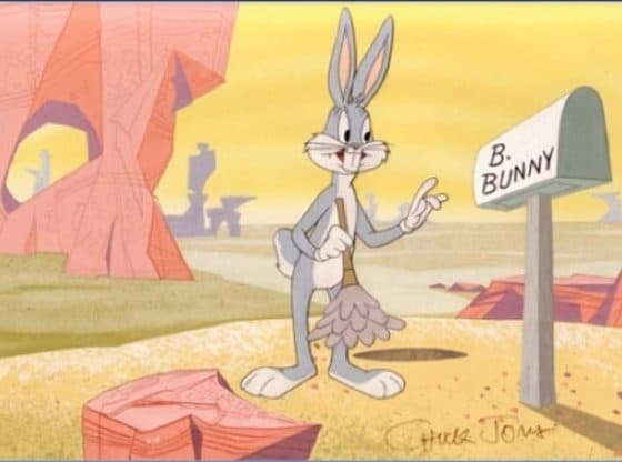 bugs bunny cleaning the desert