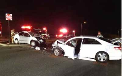 DUI Head-on crash in Folsom injures four