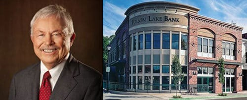 Folsom Lake Bank Board Strengthened By Veteran Banker, Howard J. Dangerfield 3