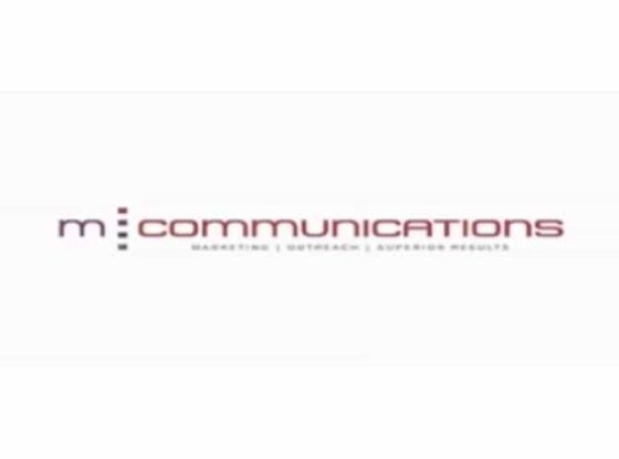 m-communications banner.