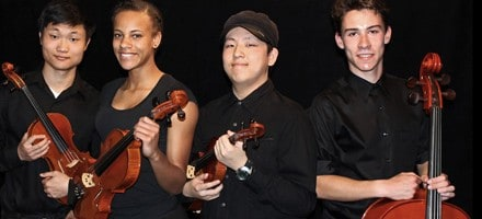 Vista del Lago High School String Quartet Joins Touring Beatles Musical