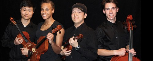 Vista del Lago High School String Quartet Joins Touring Beatles Musical