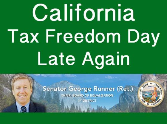 california tax freedom day.